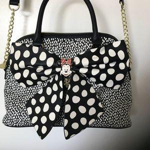 Adorable polka dot Betsey Johnson bag
